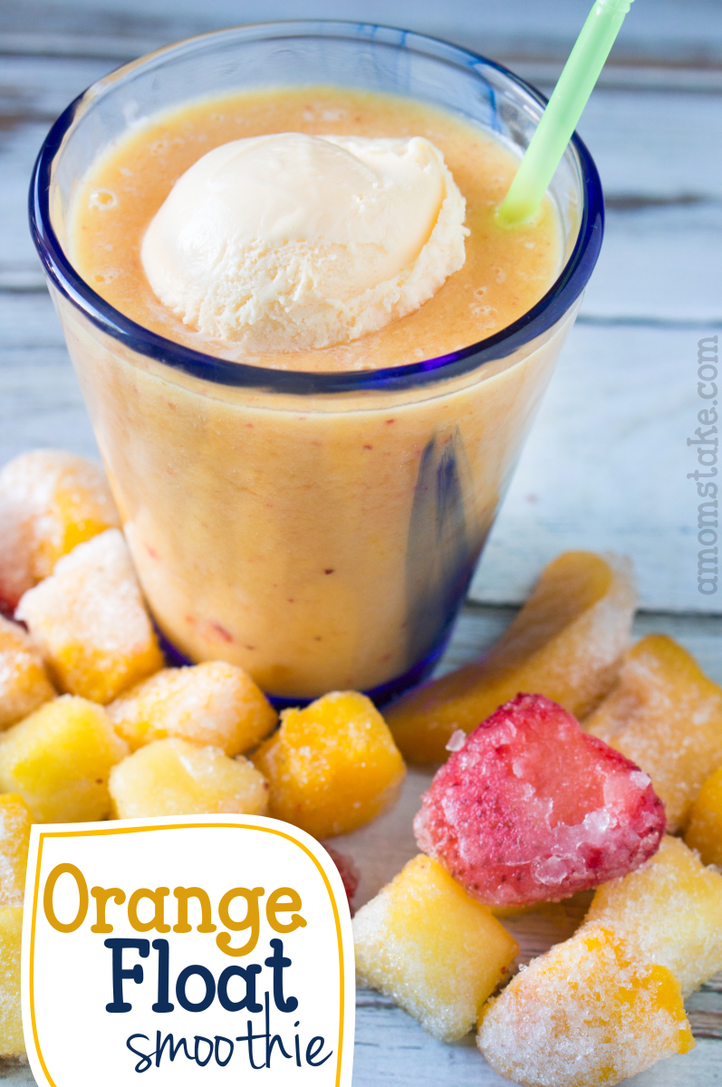 Orange Float Smoothie