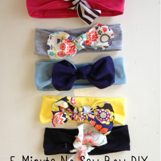 No Sew DIY Hair Bows