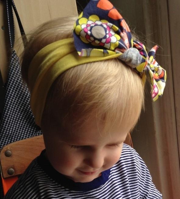 5 Minutes Knotted No Sew DIY Headband