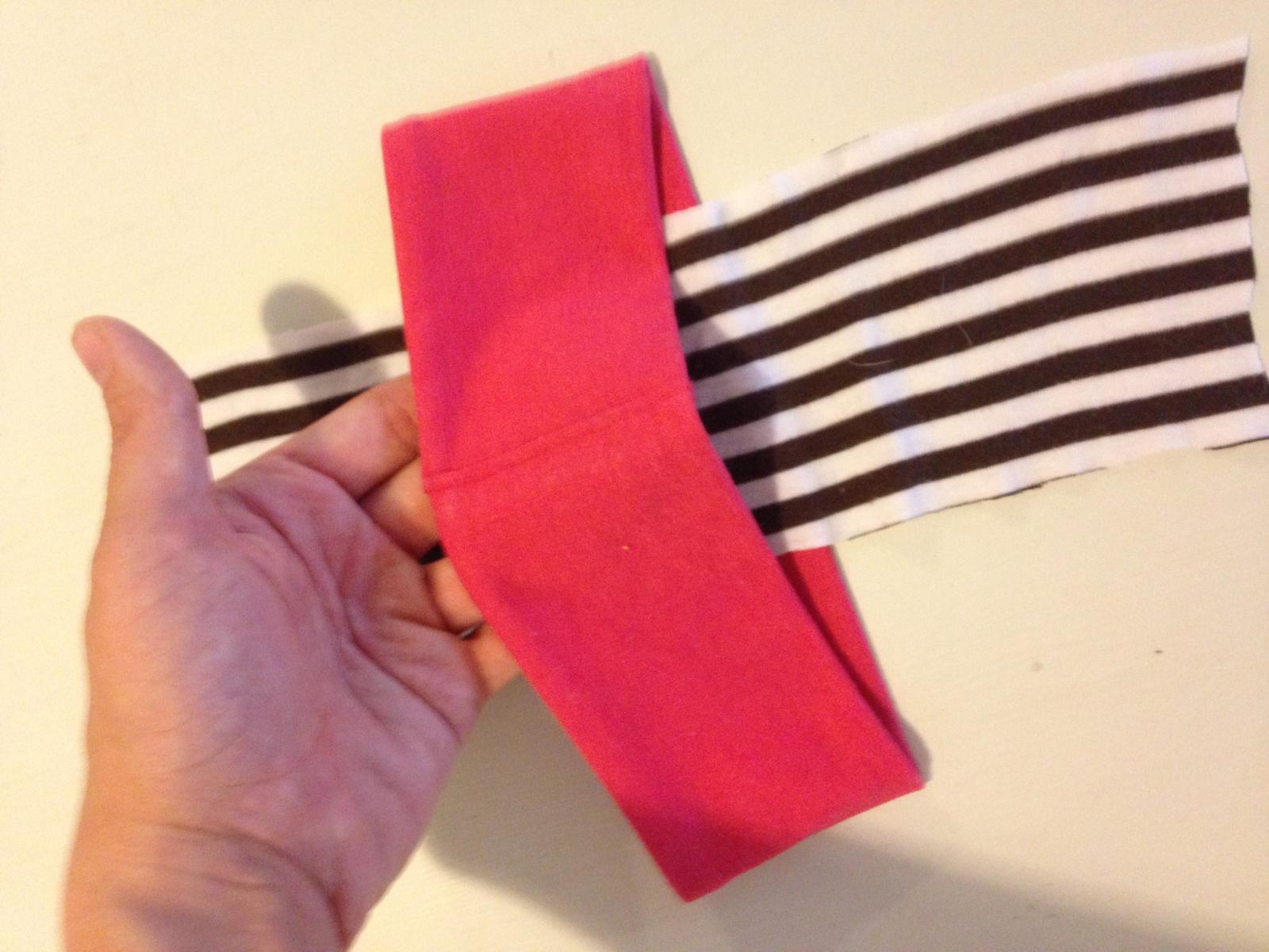 DIY Headband step 1