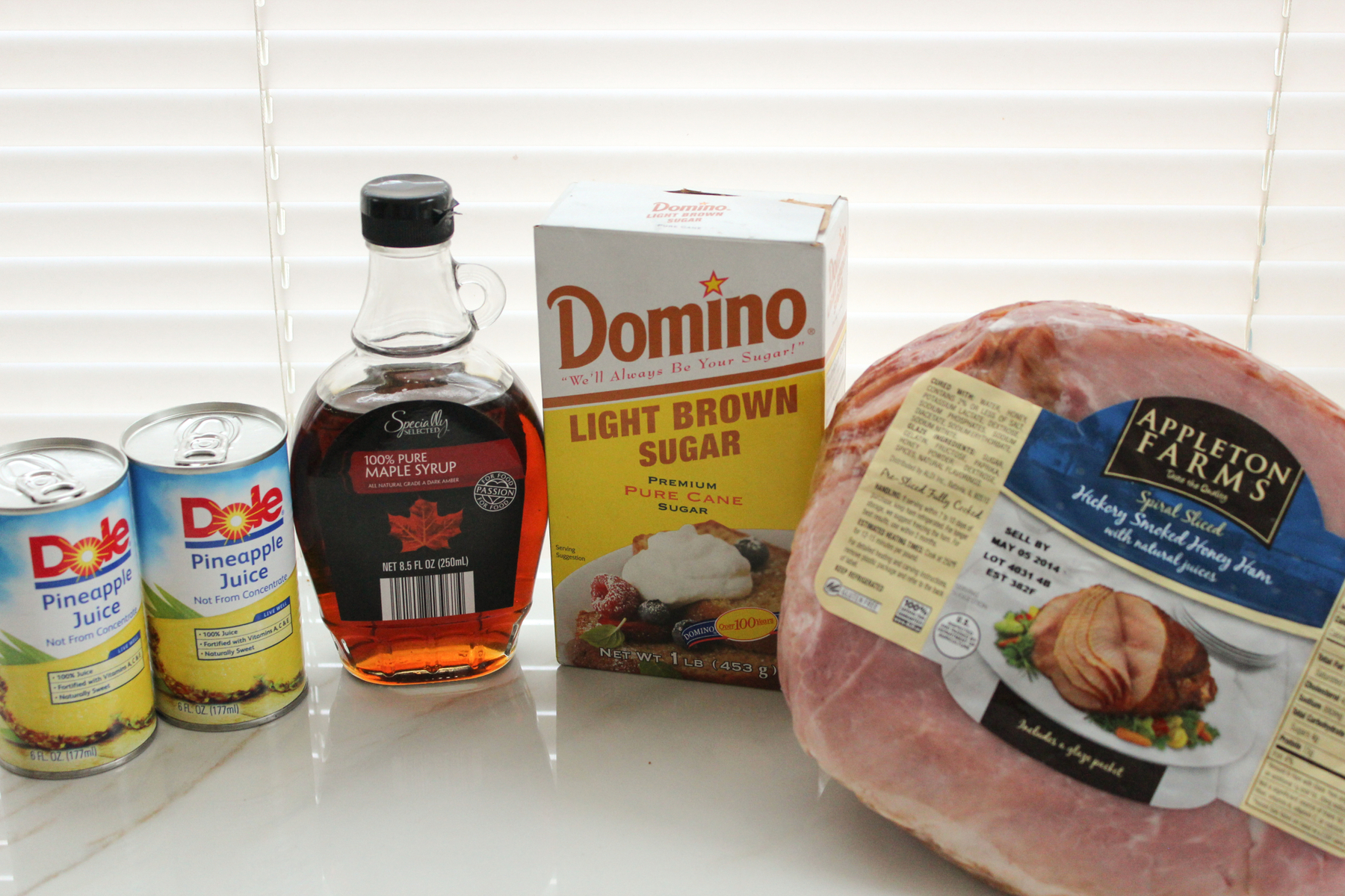 Spiral Ham Recipe Ingredients