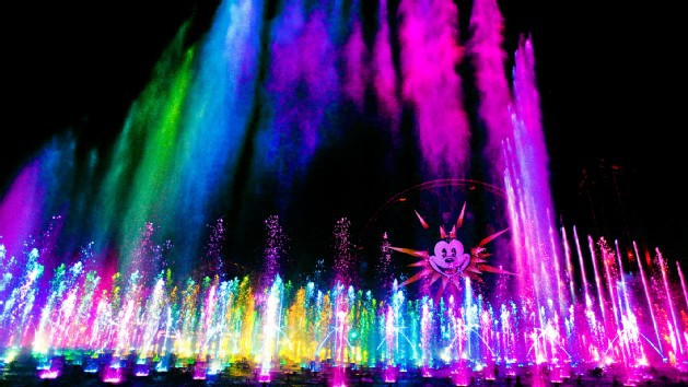 World of Color Show at California's Adventure Park