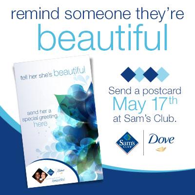 Dove-Beautiful-Postcard