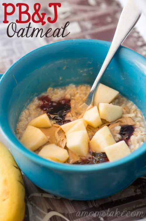 PEANUT BUTTER JELLY OATMEAL