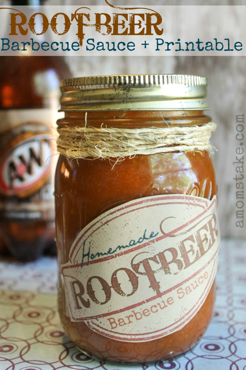 Gifts in a Jar, rootbeer bbq sauce
