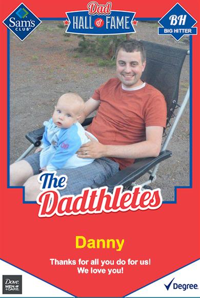 Custom Baseball Cards for Dad
