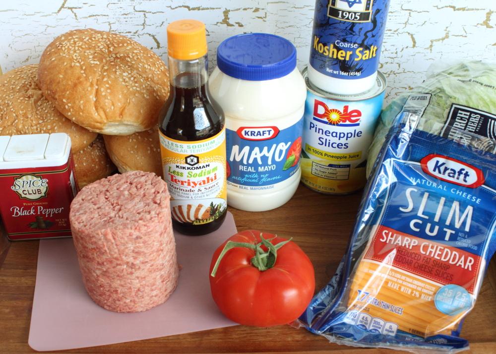 banzai burger ingredients