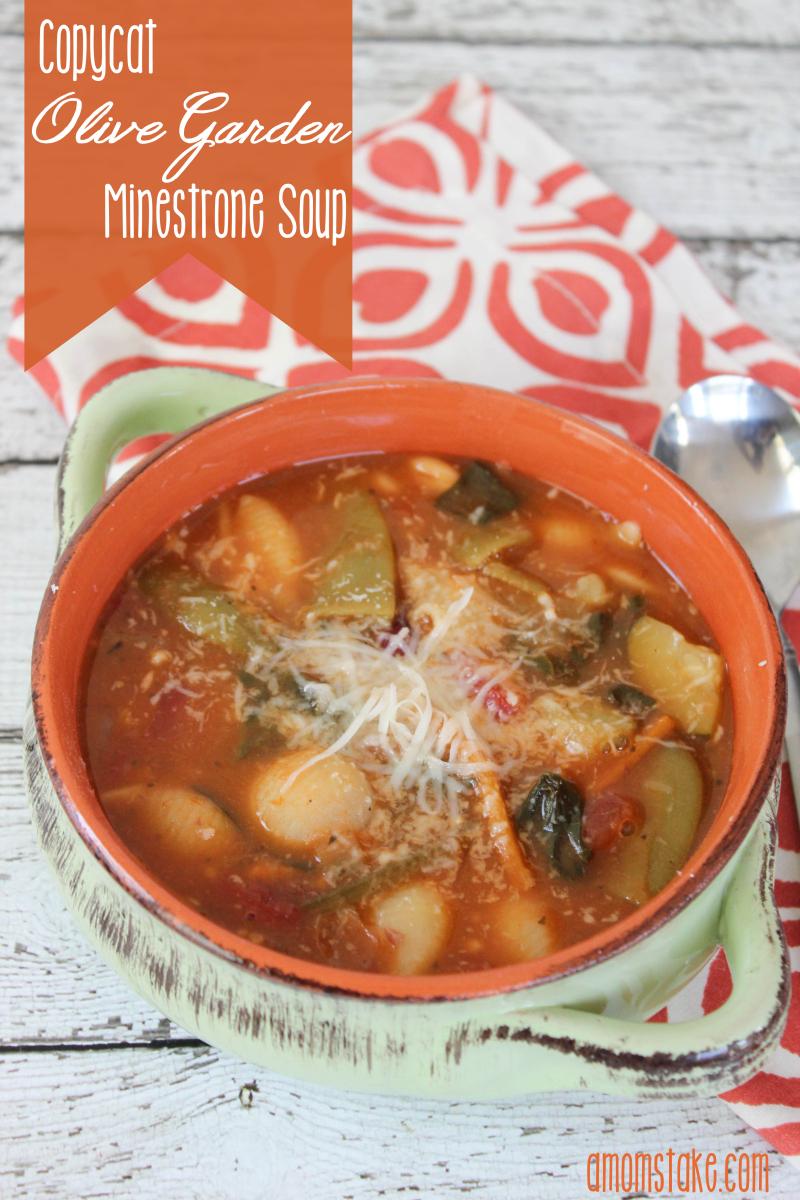 olive garden minestrone soup recipe - Olive Garden Minestrone