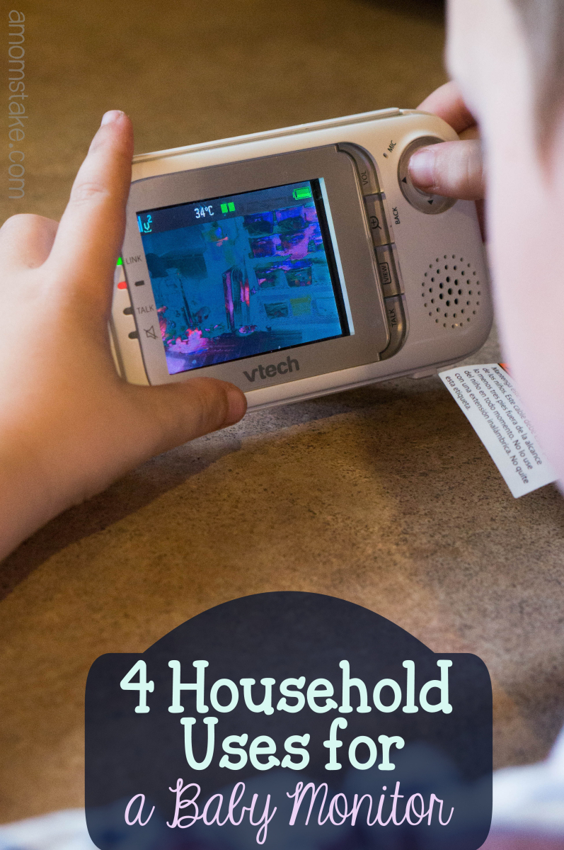 4 Household uses for a baby monitor