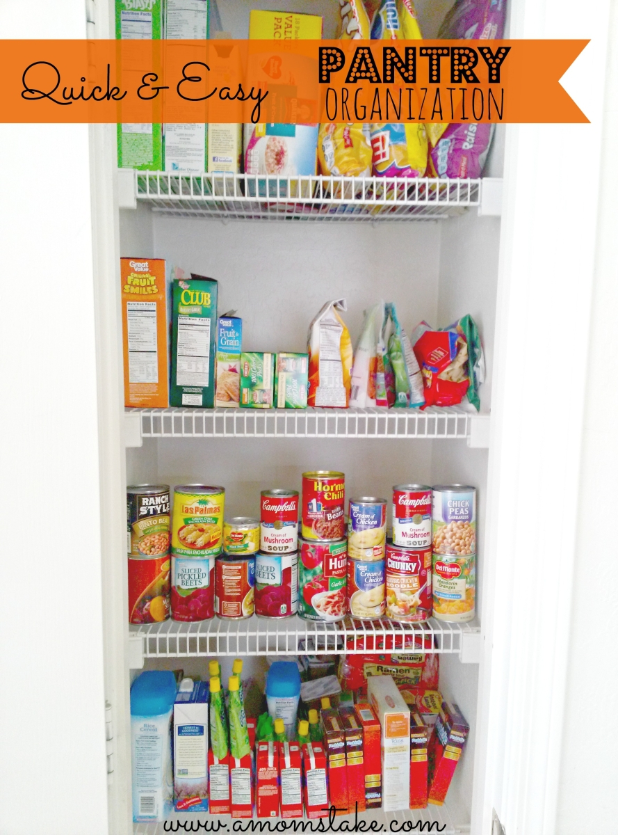 5 Quick and Easy Pantry Organization Tips