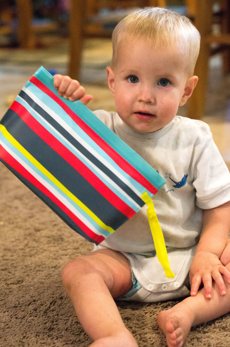 DIY Diapers & Wipes Clutch