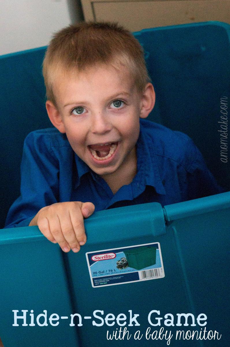 Hide-n-Seek Game with a Baby monitor