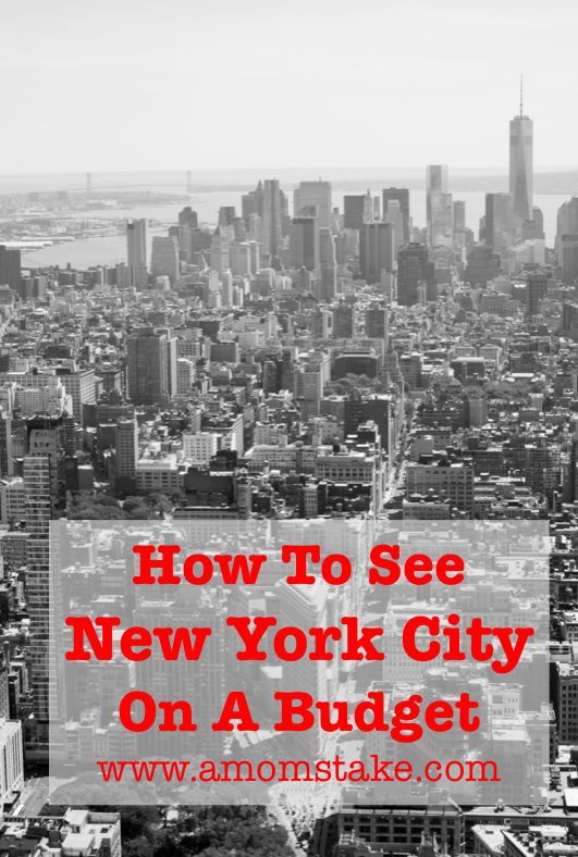 How to see New York City on a Budget