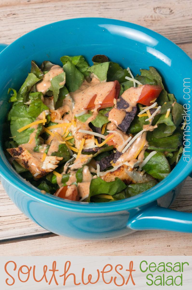 Southwest Chicken Ceasar Salad
