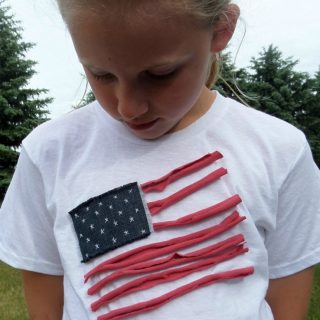 July 4th DIY Patriotic T-Shirt
