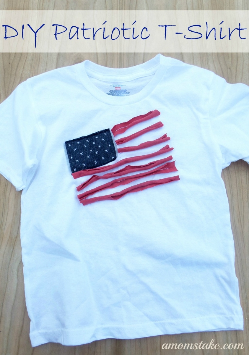 DIY Patriotic T-shirt