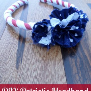 Hair Accessories – DIY Patriotic Headband