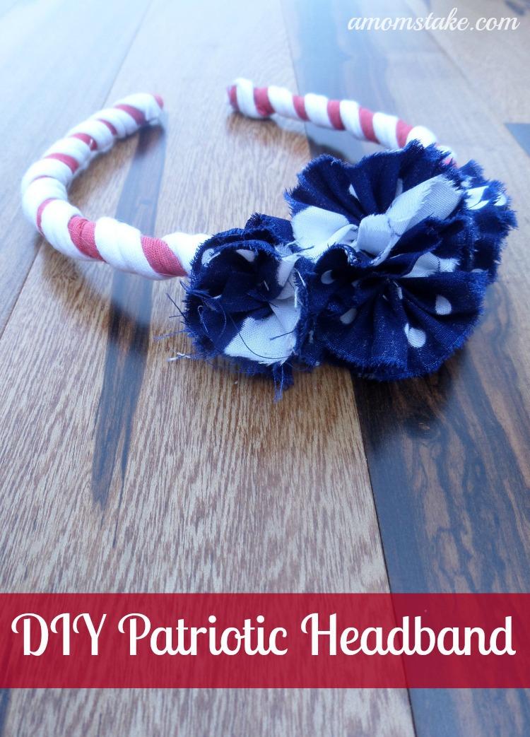 DIY Patriotic Headband