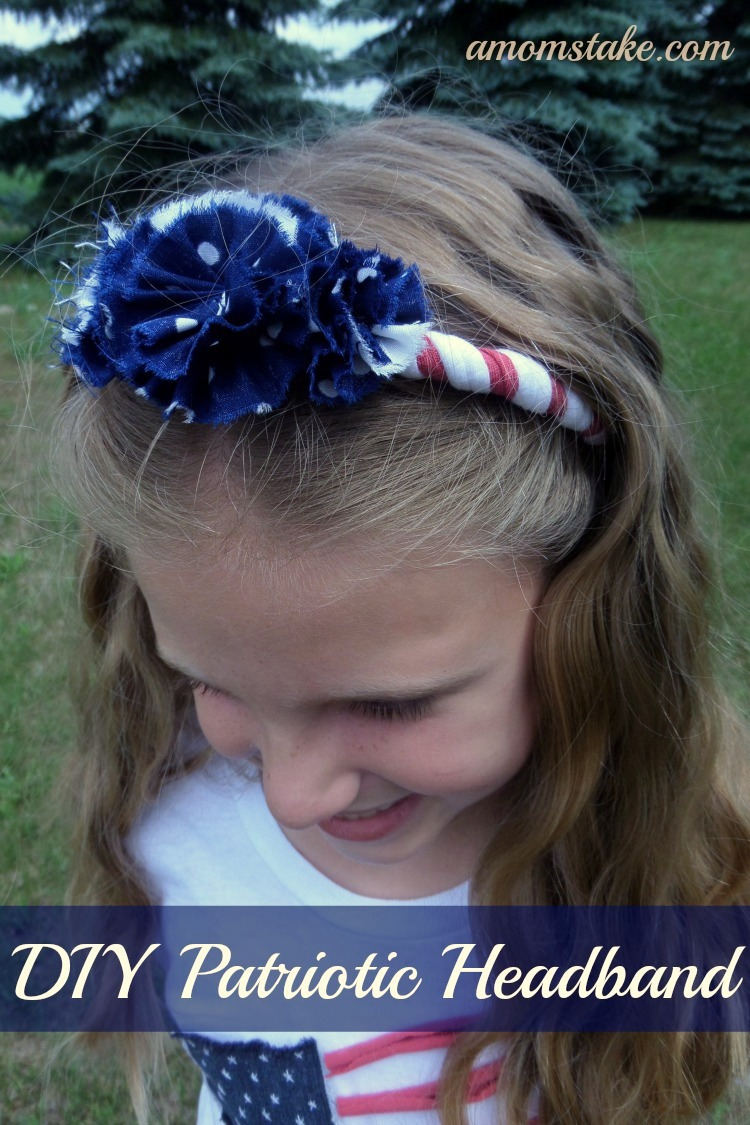 DIY Patriotic Headband tutorial