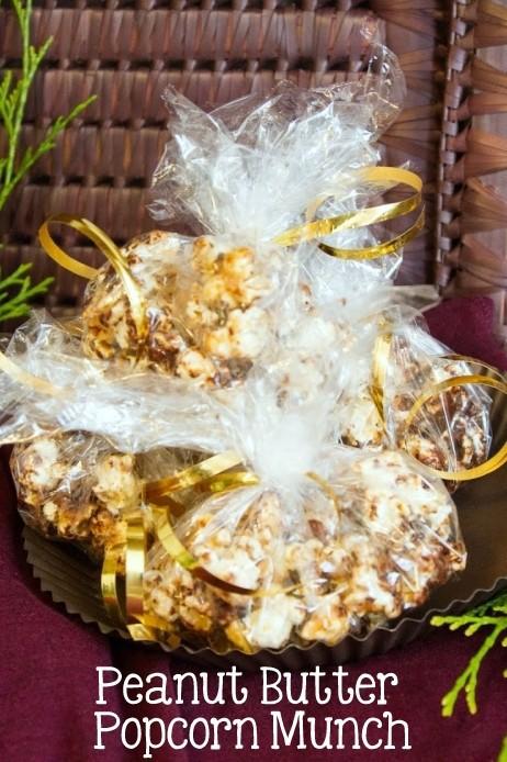 Peanut Butter Popcorn Munch