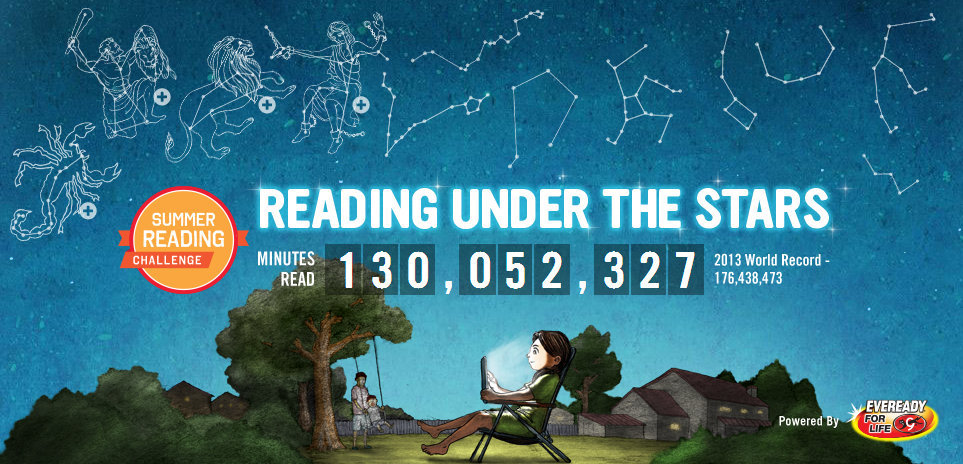 reading goal world record
