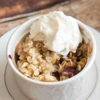 Crock-pot Fruit Crisp Recipe