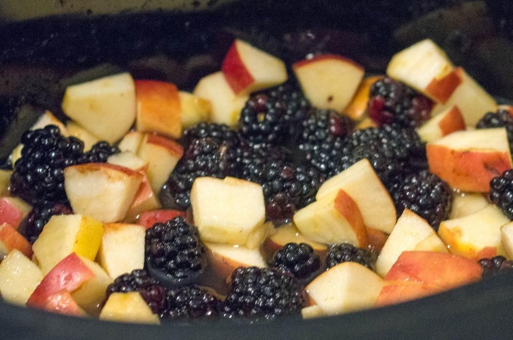Crock Pot Fruit Crisp Recipe