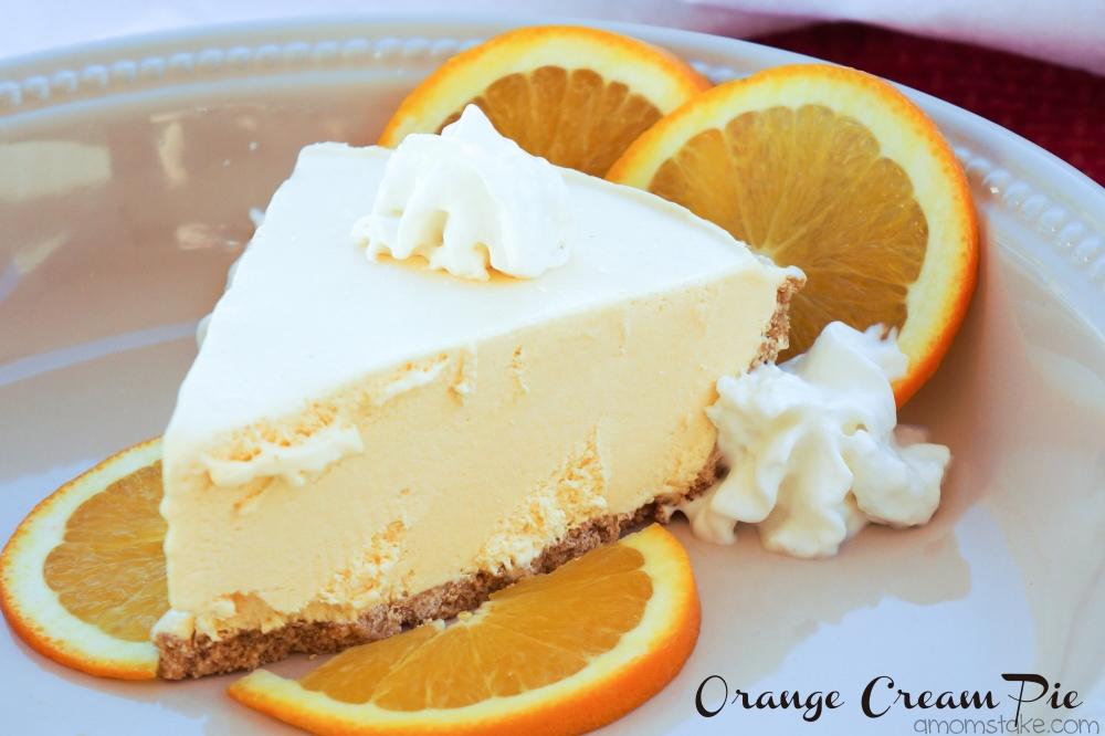 Frozen Orange Cream Pie Recipe A Mom S Take