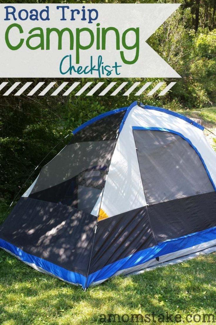 Road Trip Camping Checklist