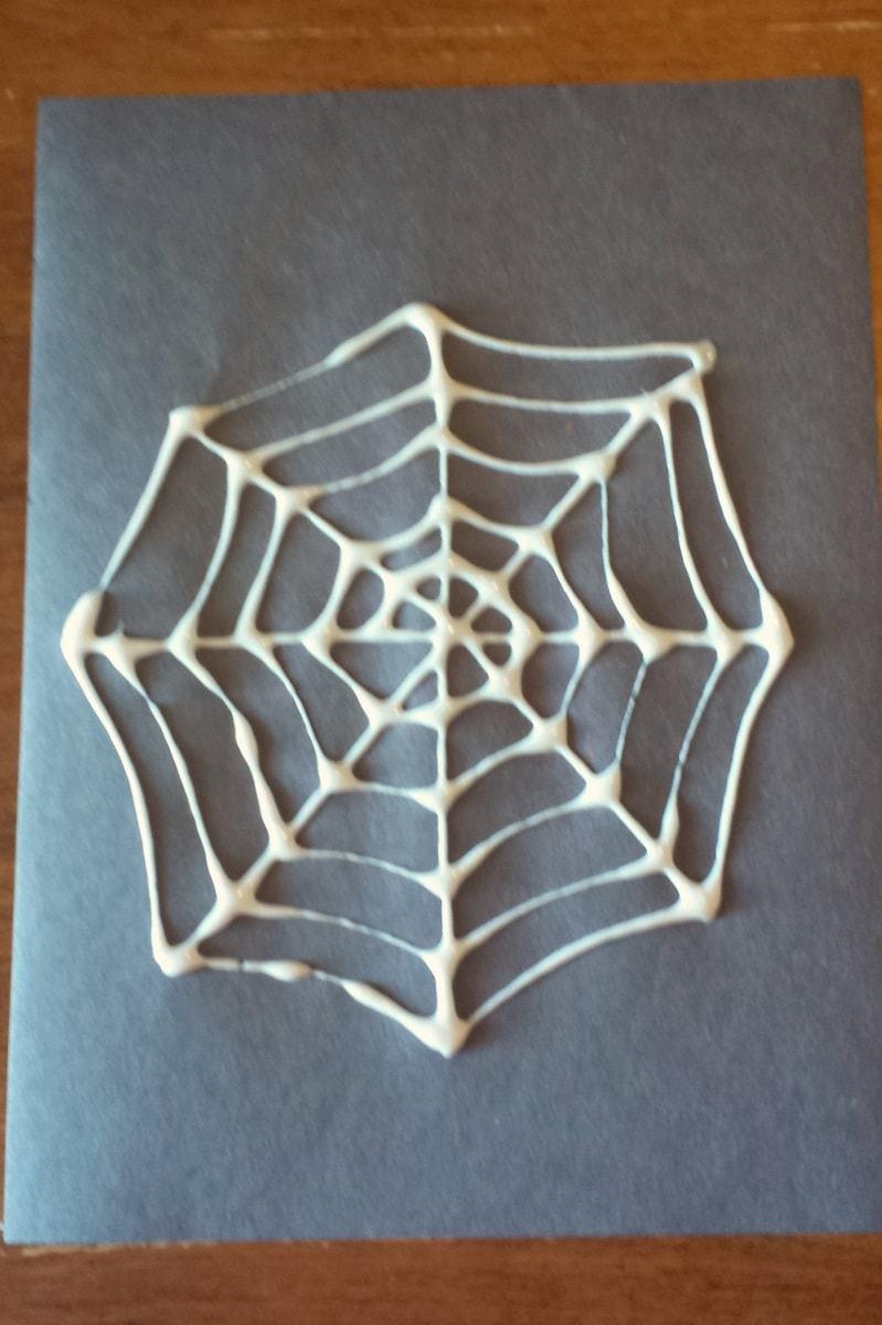 Glue Spider Web