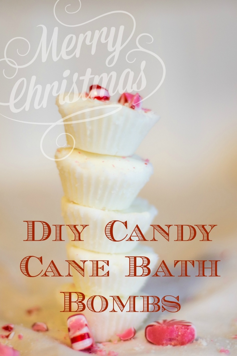 Diy Candy Cane Bath Bombs Christmas In July A Mom S Take