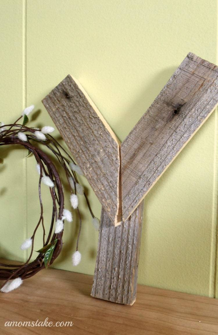 Holiday Decor - JOY Wooden Letters