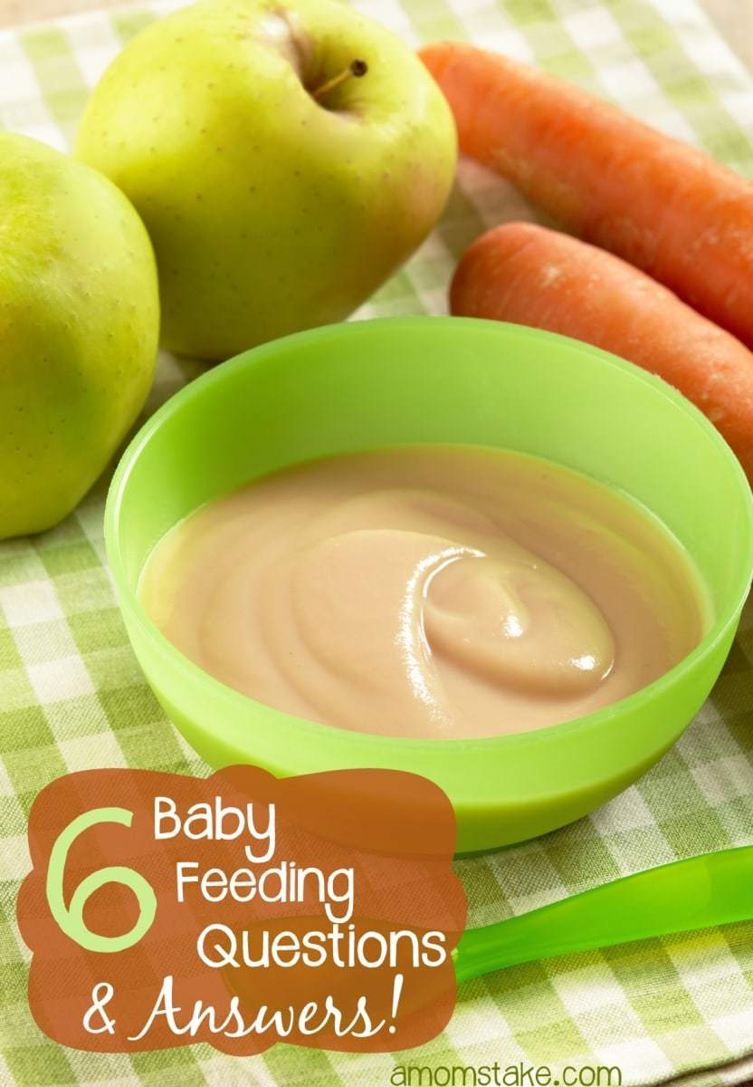6 Common Baby Feeding Questions and Answers