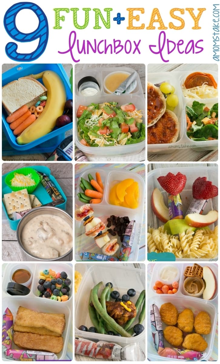 9 Fun and Easy Lunchbox Ideas