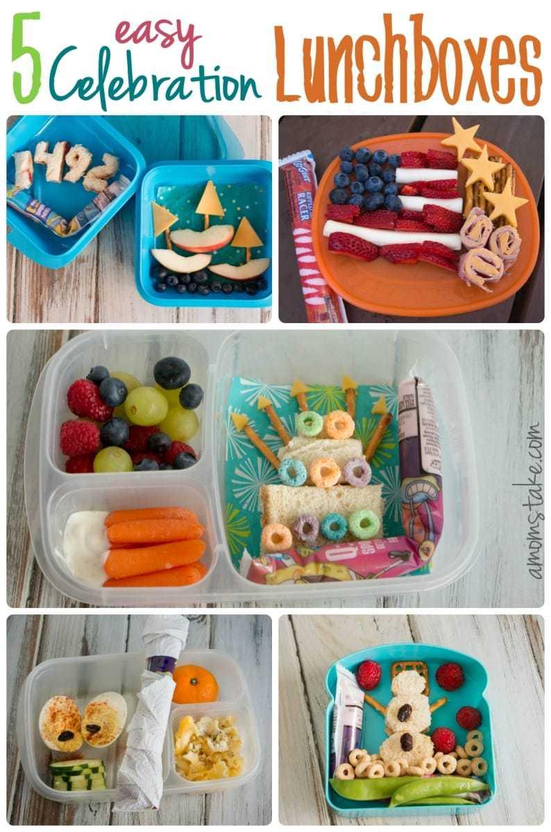 Celebration Lunchbox Ideas