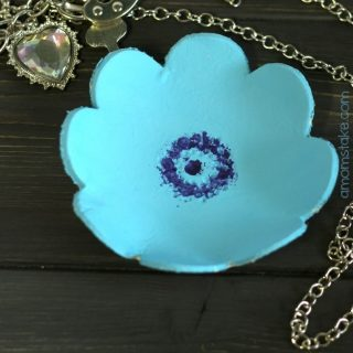 DIY Flower Clay Jewelry Holder