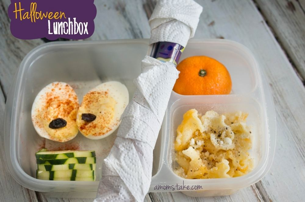 Halloween Lunchbox Bento