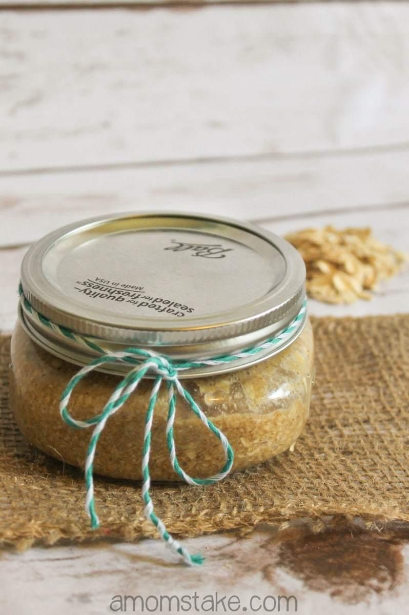 Oatmeal Hand Scrub Gift