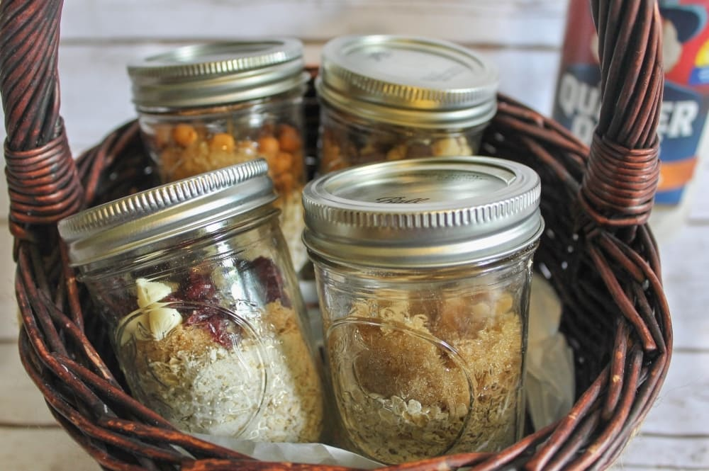 Oatmeal in Jars