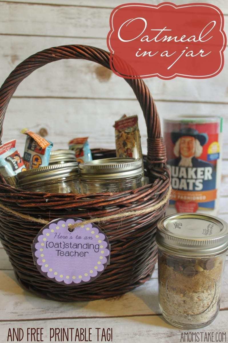 Oatmeal in a Jar Gift