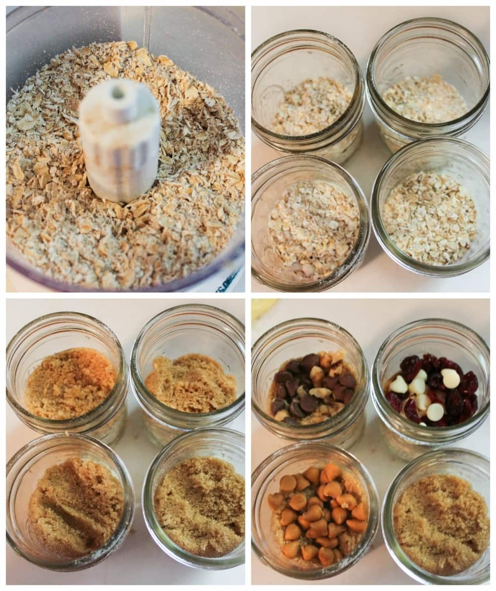 Oatmeal in a Jar prep