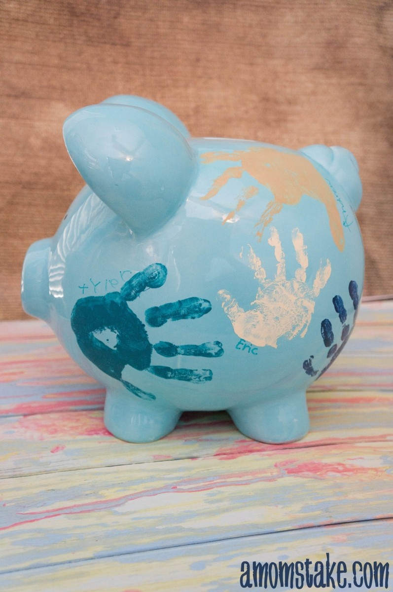 DIY Personalized Piggy Bank