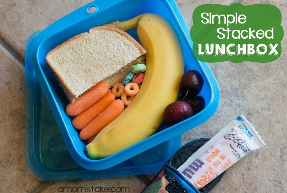 Simple Stacked Lunchbox