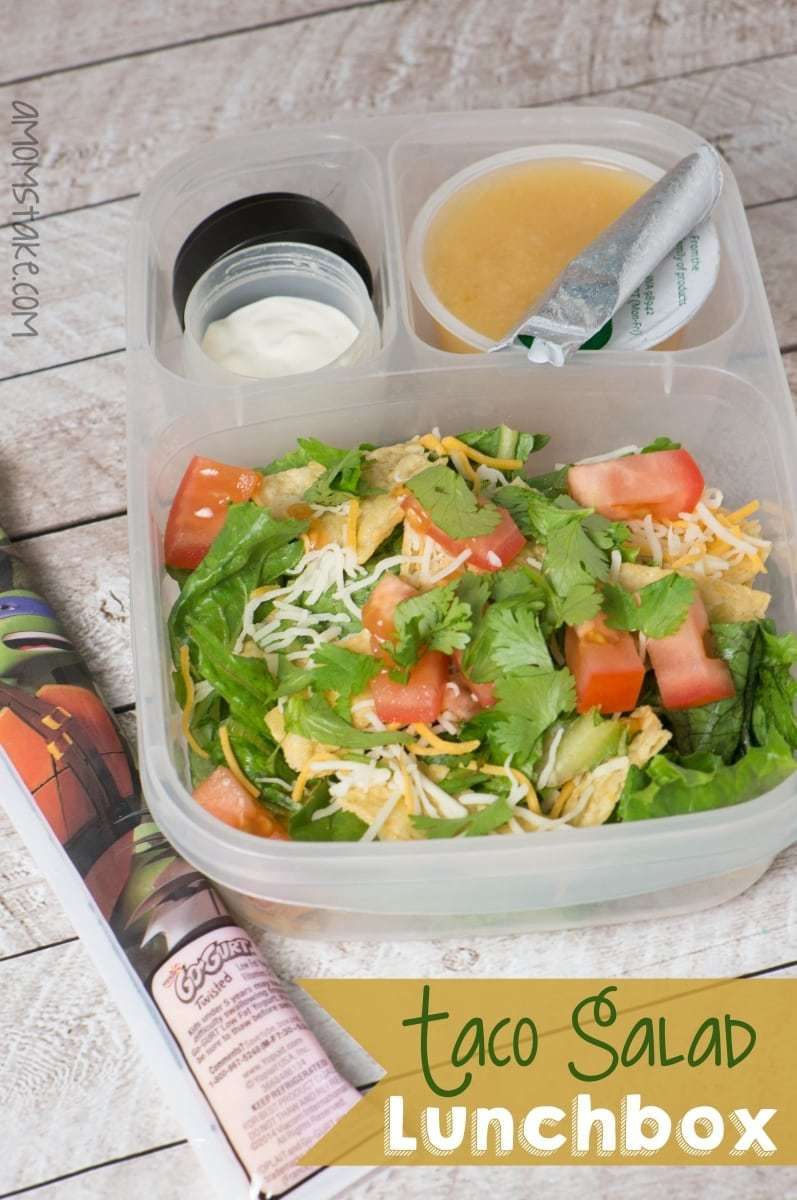 Taco Salad Lunchbox