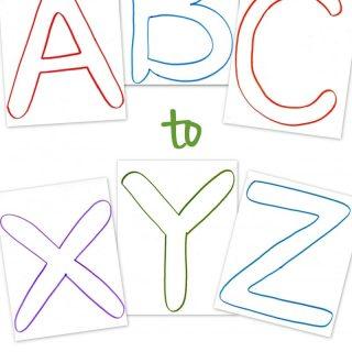 Free ABC Printable Templates