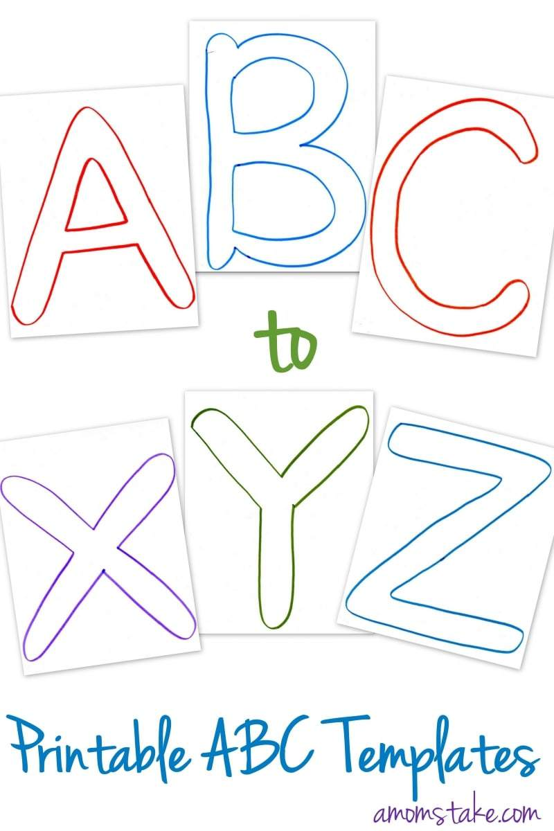 ABC Printable Templates