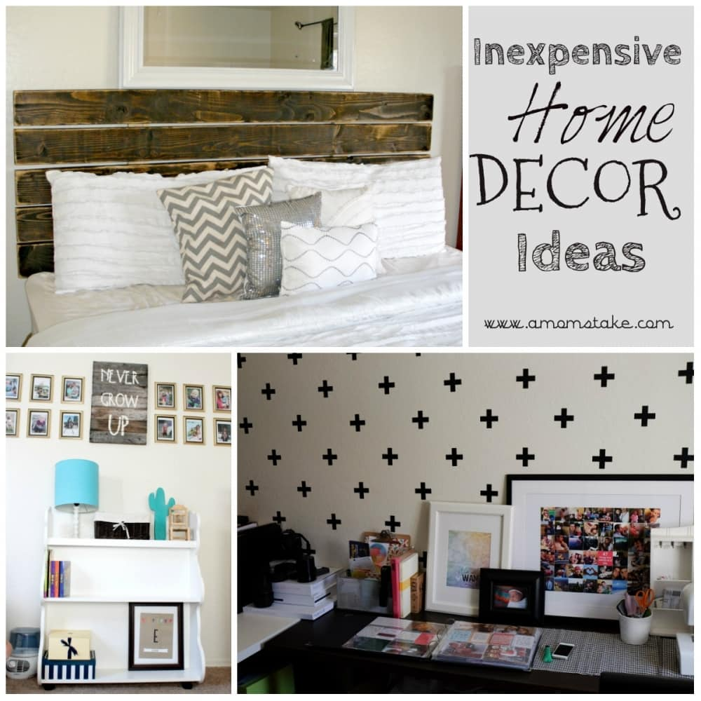 Inexpensive ways to decorate your home a mom 39 s take for Hire someone to decorate my house