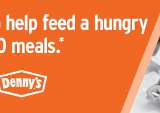 Support No Kid Hungry + Get Denny's Coupons!