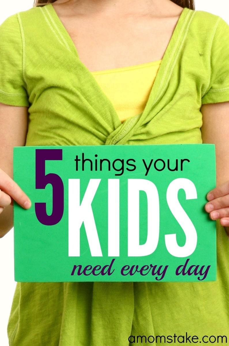 5-things-kids-need