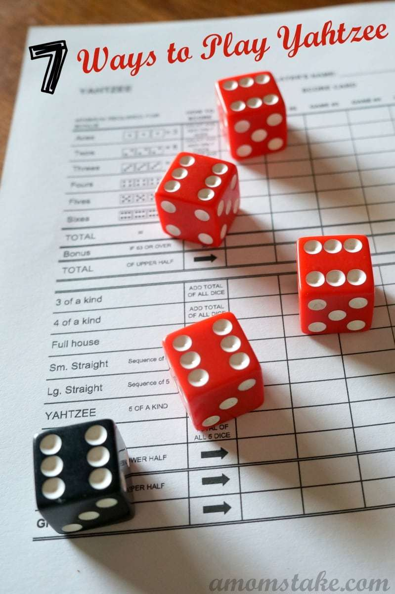 Ways to Play Yahtzee plus Yahtzee Rules!